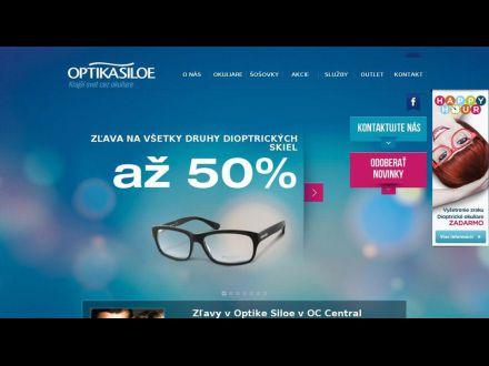 www.optikasiloe.sk