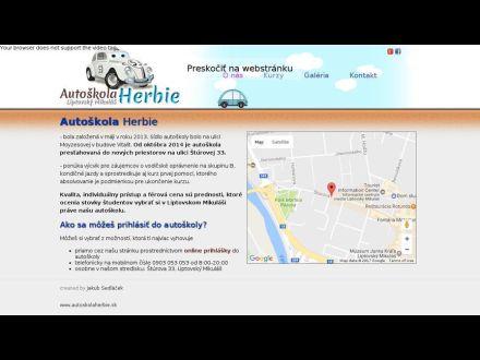 www.autoskolaherbie.sk