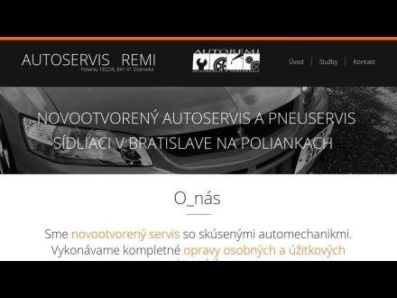 www.autoservis-remi.sk