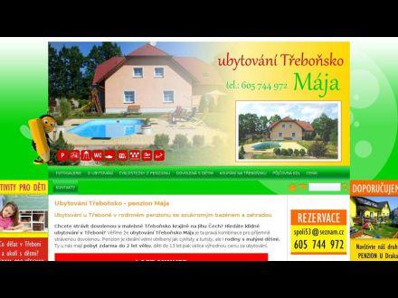 www.penzionmajatrebonsko.cz