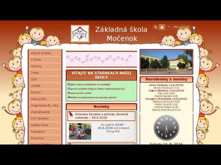 www.zsmocenok.edupage.sk
