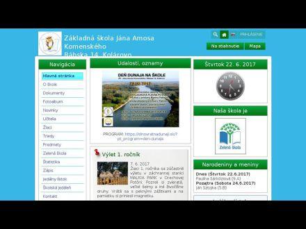 www.zsrabskakolarovo.edupage.org