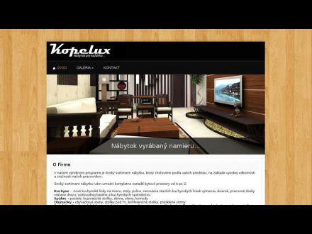 www.kopelux.sk