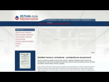 www.ax-trade.sk