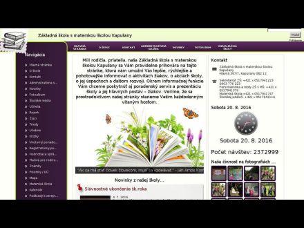 www.zskapusany.edupage.org