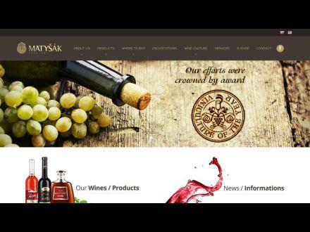 www.vinomatysak.sk