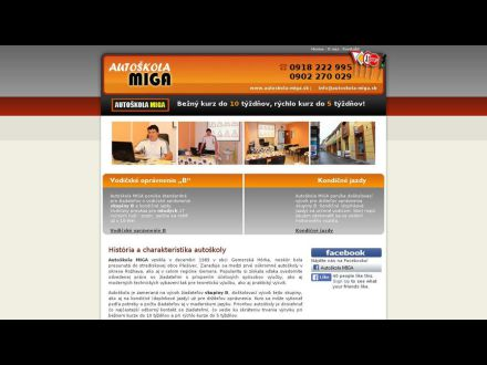www.autoskola-miga.sk