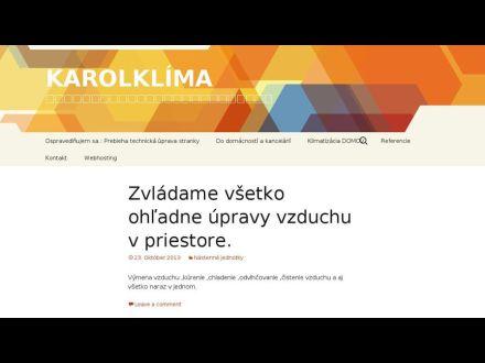 www.karolklima.sk