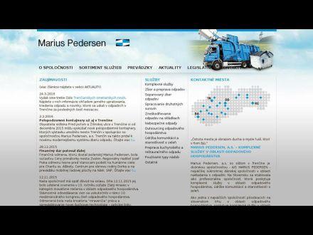 www.mariuspedersen.sk