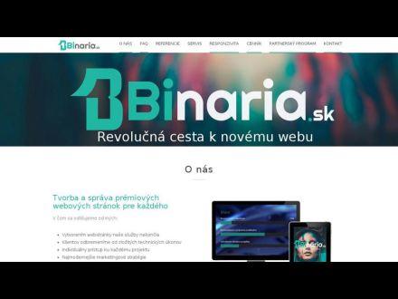9c39b28dbb85 Binaria.sk - Tvorba web stránok