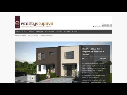 www.reality-stupava.sk
