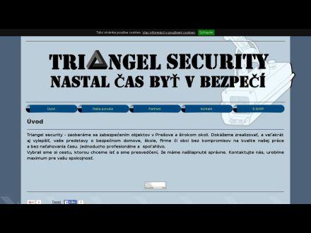 www.triangelsecurity.sk
