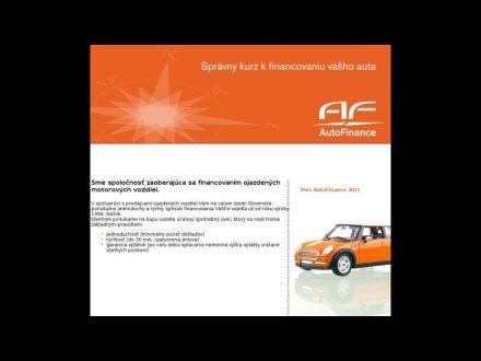 www.autofinance.sk