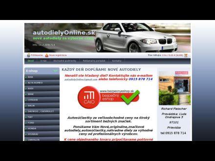 www.autodielyonline.sk