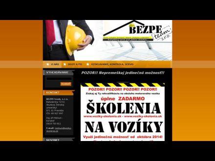 www.bezpeteam.sk