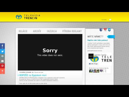 www.televiziatrencin.sk