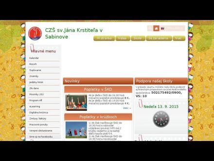 www.czssab.edu.sk