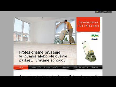 www.brusenie-parkiet-pro.sk