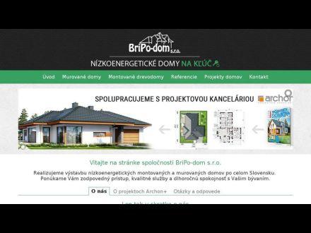 www.bripodom.sk