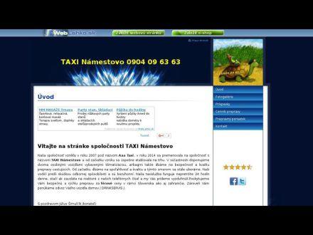 www.taxinamestovo.wbl.sk