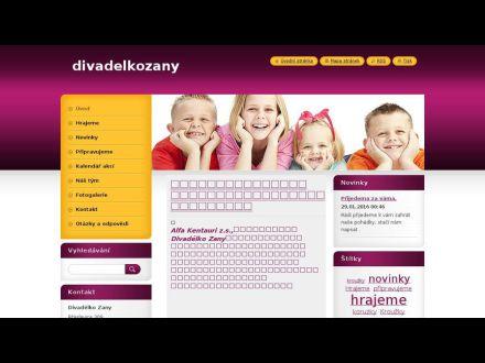 www.divadelkozany.webnode.cz