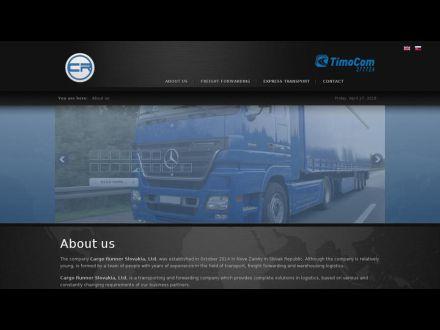 www.cargorunner.sk