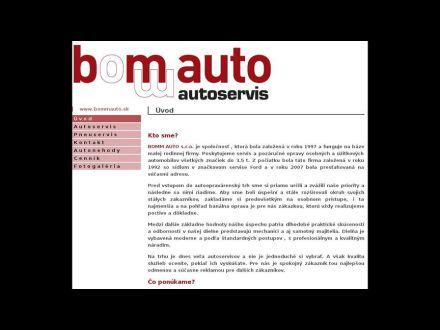 www.bommauto.sk