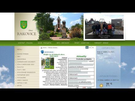 www.rakovice.sk