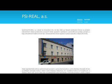 www.fsi-real.sk