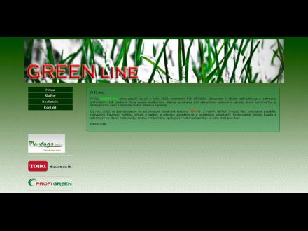 www.greenline.eu.sk