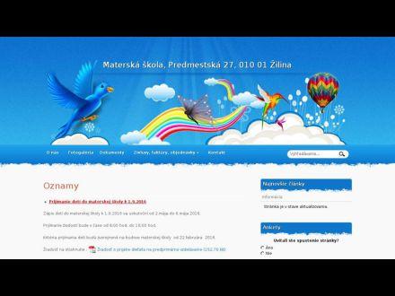 www.mspredmestska.zilina.sk