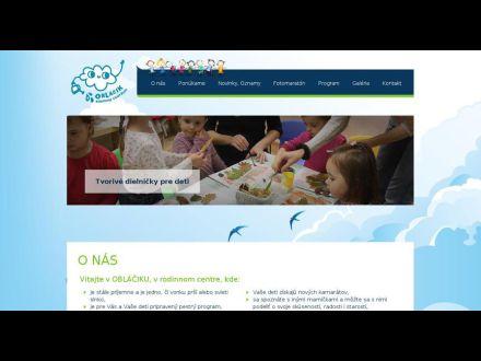 www.oblacik.sk