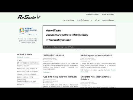 www.resocia.sk