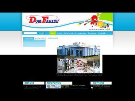www.domfarieb.sk