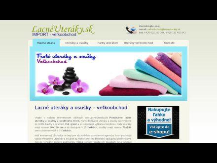 www.lacneuteraky.sk