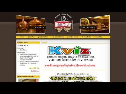 www.jihomestskypivovar.cz