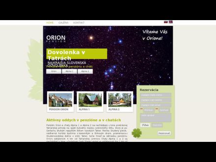 www.pension-orion.sk