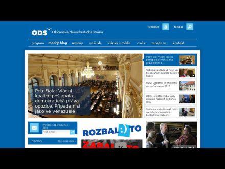 www.ods.cz