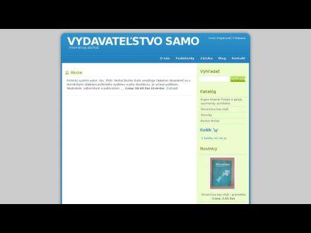 www.vydavatelstvosamo.sk