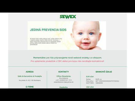 www.sewex.sk