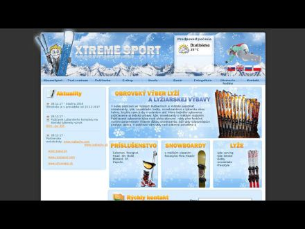 www.xtremesport.sk