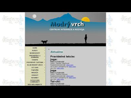 www.modryvrch.sk