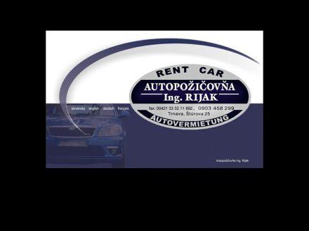 www.autopozicovna-rijak.sk