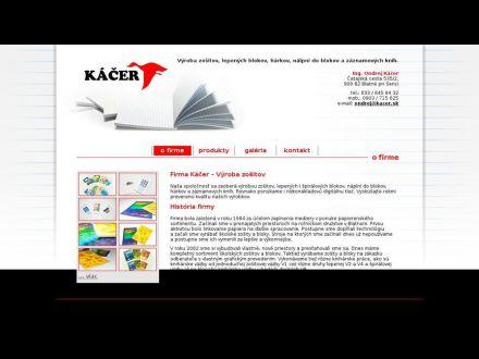 www.kacer.sk