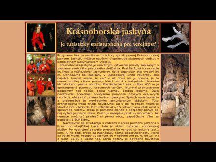 www.krasnohorskajaskyna.eu