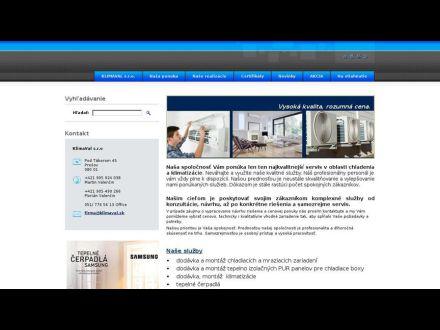 www.klimaval.sk