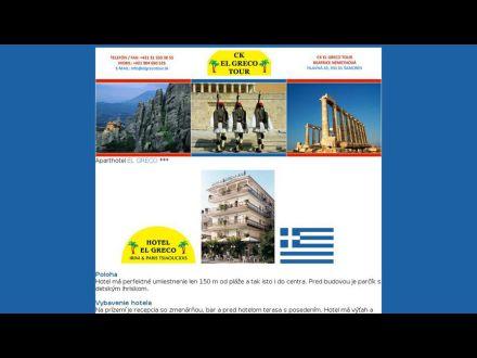 www.elgrecotour.sk