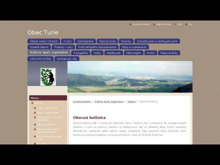 www.obecturie.eu/obcan/kultura/miestna-kniznica