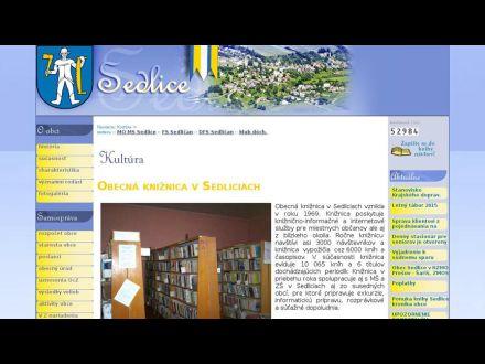 www.sedlice.sk/kniznica.html
