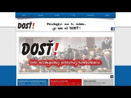 www.strana-dost.sk